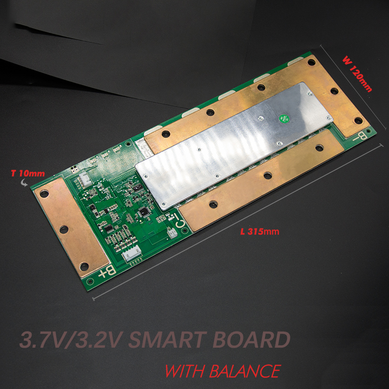 4S LiFePO4 Li-ion 150A smart bms pcm with android Bluetooth app UART bms wi software (APP) monitor
