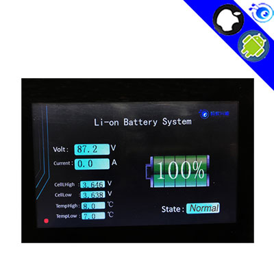 8S- 32S DIY Lifepo4 li-ion smart bms pcm TTL Touch screen