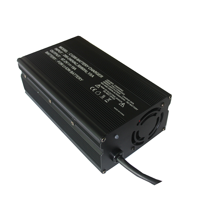 16S  67.2V Li-ion SMART charger for 16S battery pack